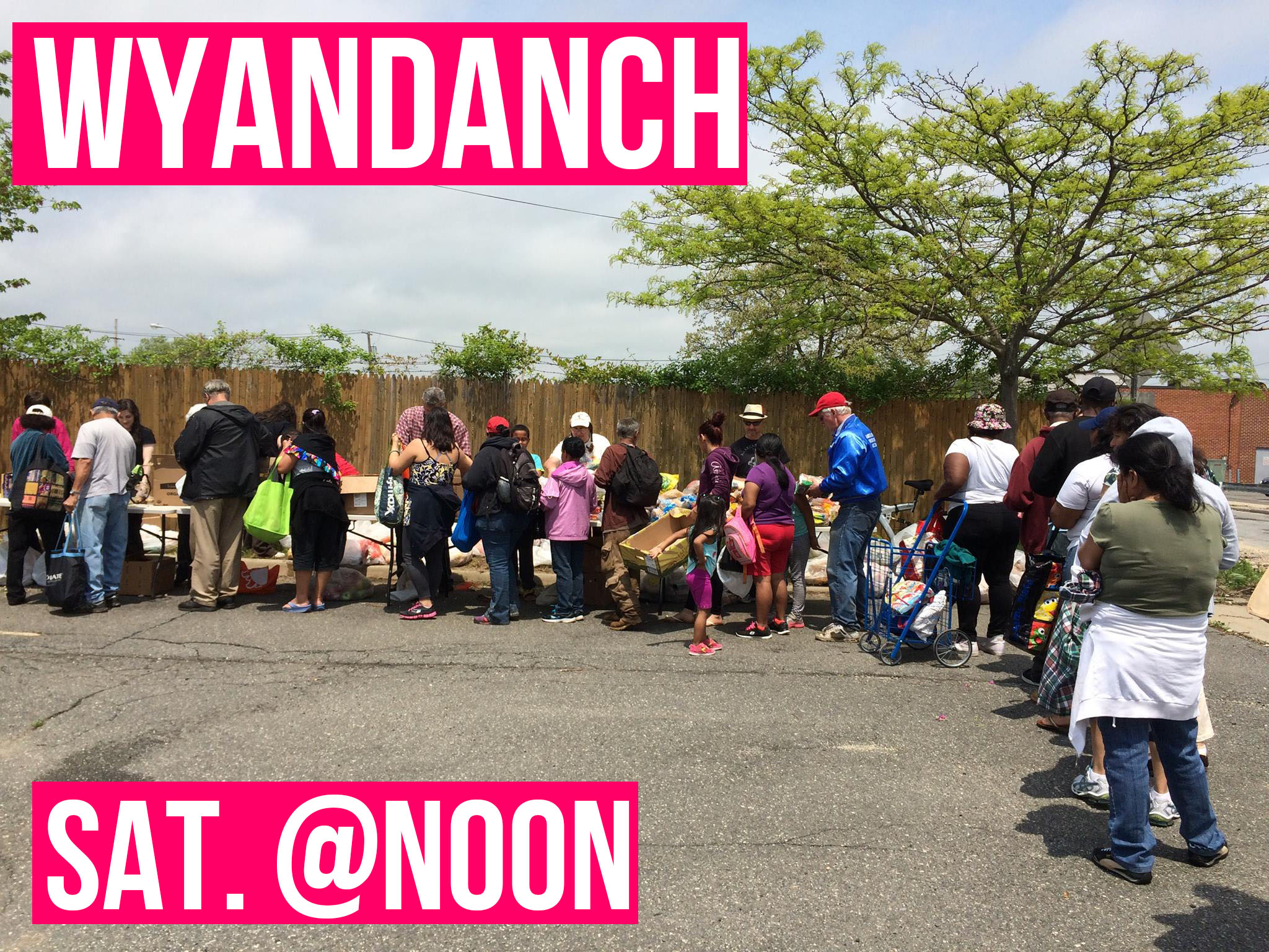 Wyandanch Food Share